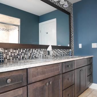 Annandale NJ Bathroom Remodel Mirror