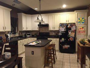 Kitchen Remodel: Island View 1